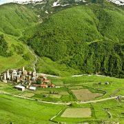 Svaneti, Village